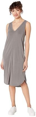 Splendid Sandwash Riva Dress (Vintage Olive Branch) Women's Clothing