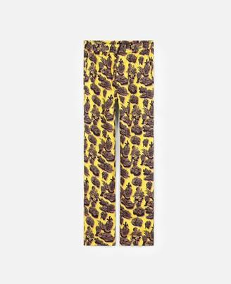 Stella McCartney tye silk trousers