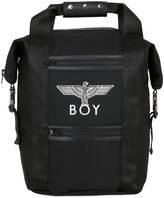 Boy London Boy Eagle Leather & Nylon Backpack