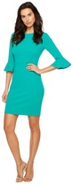 Donna Morgan 3/4 Bell Sleeve Sheath Dress Women's Dress