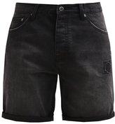 Cheap Monday Denim Shorts Moonwash Denim