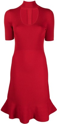 MICHAEL Michael Kors Cutout Stretch Dress