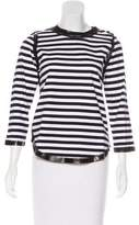 Zadig & Voltaire Striped Long Sleeve Top