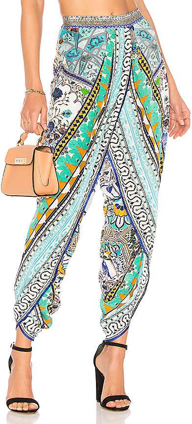 Camilla Wrap Front Trouser