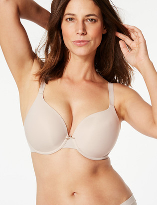 Marks and Spencer 2 Pack Underwired Plunge T-Shirt Bras DD-G