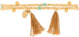 Shashi Eliza Gemstone Wrap Bracelet