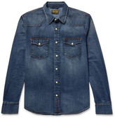Jean Shop Garth Slim-Fit Denim Western Shirt