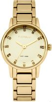 Fiorelli Ladies gold tone bracelet watch