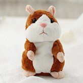Hittime TR.OD 16cm Funny Talking Hamster Mouse Pet Speak Sound Record Plush Toy Kid Gift