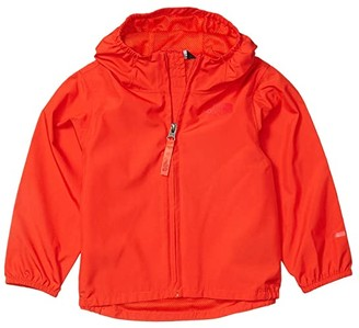 The North Face Kids Flurry Wind Jacket (Toddler) (Fiery Red) Kid's Clothing