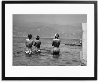 Sonic Editions Bardot bathing with two friends