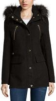 A.N.A a.n.a Fur-Trim Anorak Jacket