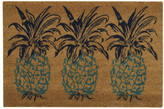 Nourison Greetings Pineapple Doormat Rug