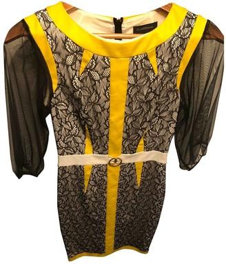 Roberto Cavalli Multicolour Lace Dress for Women