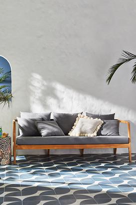Anthropologie Neptune Indoor/Outdoor Sofa By in Grey Size ALL