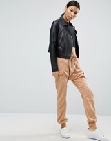 Asos Harem Washed Casual Pants