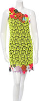 Christopher Kane Crochet One-Shoulder Dress