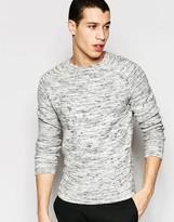 Selected Flecked Matthew Crew Neck Sweater