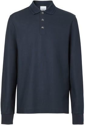Burberry Cotton-Pique Polo Shirt