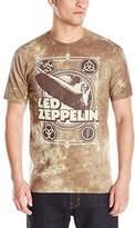 Liquid Blue Men's Zeppelin Poster T-Shirt