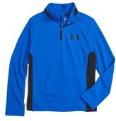 Under Armour Boy's Fairway Quarter Zip Top