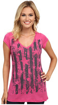 Roper 9754 Cotton Poly Jersey V-Neck Tee