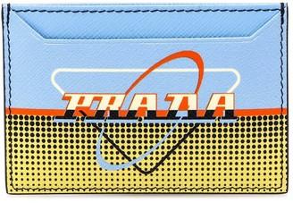 Prada Printed Cardholder