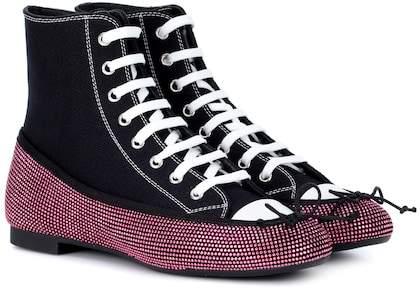 Marco De Vincenzo High-top sneaker ballet flats