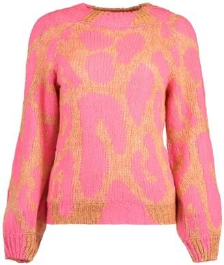 Stella McCartney Leopard Knit Jumper