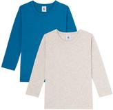 Petit Bateau Set of 2 boys long-sleeved T-shirts