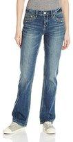 UNIONBAY Women's Gabrae 5 Pkt Hip Slimming Skinny Bootcut Jean