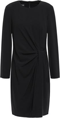 Moschino Draped Stretch-crepe Dress