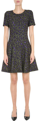 Boutique Moschino Animal Print Dress