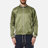 Vivienne Westwood Anglomania Bomber Souvenir Jacket Green Crunchy