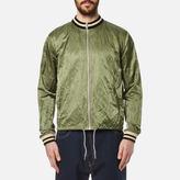 Vivienne Westwood Men's Bomber Souvenir Jacket Green Crunchy