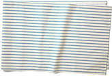Maison Du Linge Stripe Table Runner - Blue/Ecru