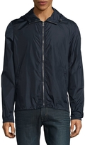 Orlebar Brown Men's Waterproof Hooded Jacket - Blue, Size x-small