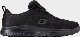 Skechers Men's Relaxed Fit: Flex Advantage - Bendon Slip-Resistant Work Shoes