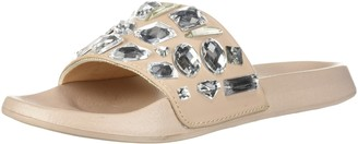 LFL by Lust for Life Women's LL-Stoned Flat Sandal