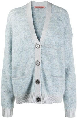 Acne Studios Brushed Relaxed-Fit Cardigan