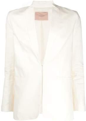 Twin-Set inverted lapel jacket
