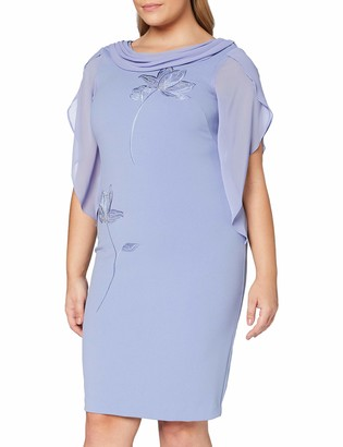 Gina Bacconi Women's Martyna Cowl Neck Dress Cocktail