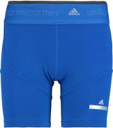 adidas by Stella McCartney Stretch-scuba shorts