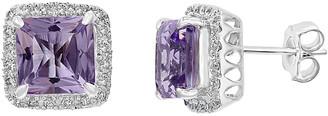 Effy 14K 4.64 Ct. Tw. Diamond & Pink Amethyst Earrings