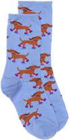 Hot Sox Roller Dog Crew Socks - Women's