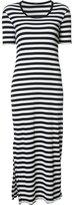 OSKLEN striped midi dress