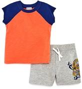 Splendid Boys' Tee & Skull Print Shorts Set - Baby