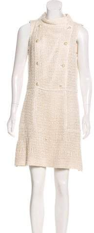 Chanel Silk Open Knit Dress