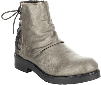 Fly London Women's Casual boots 002 - Gray Bust Ankle Boot - Women