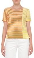 Akris Punto Women's Stripe Silk Blouse
